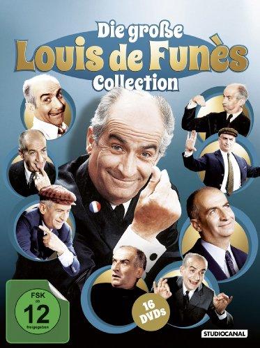 Bild von Die große Louis de Funès Collection [16 DVDs]