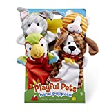 Melissa & Doug 19084 Playful Pets marionette giocattolo