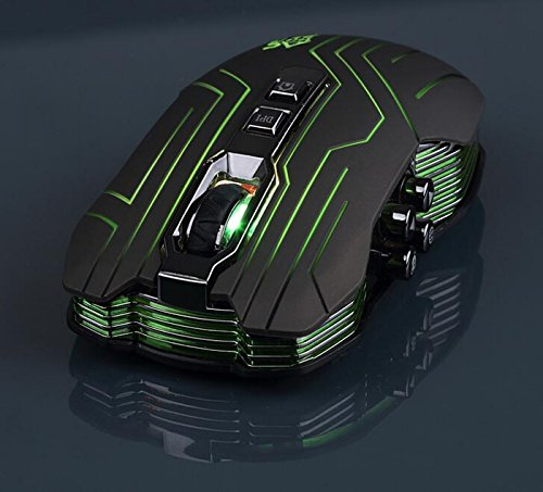 9D Gaming Mouse – Laprite Professional 3200 DPI Optical Wireless Gaming Mouse for DotA FPS Laptop PC Macbook 51RyIDuvpqL
