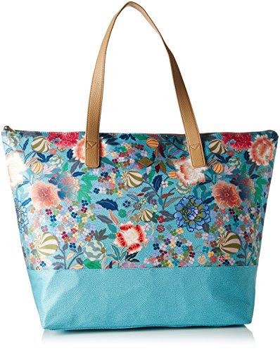 Oilily - Oilily Daily Shopper, Borsa a spalla Donna Blu ( Pool Blue)