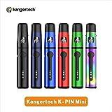 E Zigarette Kangertech KPIN Mini 1500mAh wiederaufladbare Batterie, 2ML Kapazität E-Cig Starter Kit mit Vape Pen, Teleskop Mundstück, tragbare Verdampfer, LED Anzeige Vape, keine Nikotin (Schwarz)