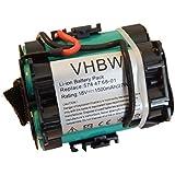 Batterie Li-Ion vhbw 1500mAh (18V) pour tondeuse robot Husqvarna Automower 105, 305, 308 . Remplace: 574 47 68-01, 505 69 73-20.