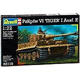 Revell - Maqueta PzKpfw VI Tiger I Ausf.E, escala 1:72 (03116)