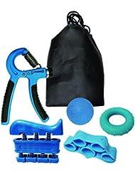 VLFit fortalecedor de Agarre de Mano Unisex, Paquete de 5, Azul, Normal