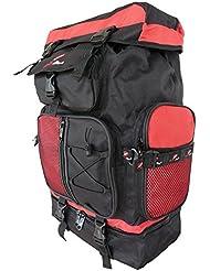 Roamlite Large Camping Backpacks Bags - 60 to 65 Litre LTR Size Backpacking Backpack - Festival Rucksack - Duke of Edinburgh D of E Compliant - Top Loading Bag - Lightweight 1.1 kg - 59cm x 33 x 20