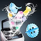 4tens 4Piece Magic Soft Laundry Ball Washing Machine Dryer Clothes Multi Color