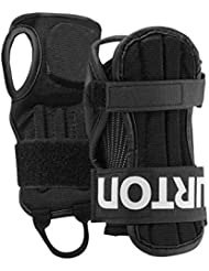 Burton Adult Wrist Guards Protezioni Snowboard, Unisex – Adulto, True Black, M