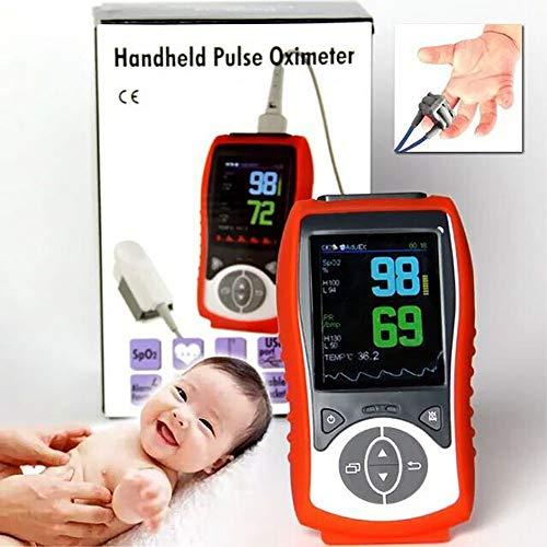 SJZV Tragbares Finger-Pulsoximeter der hohen Qualität benutzt für das Herzschlag-Messen