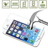 ILS® - Pellicola Protettiva ultraresistente in Vetro Temperato con spessore solo di 0,26 mm (iPhone 6)