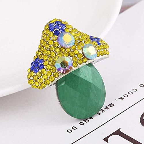 Fliyeong Kleine und Exquisite hochwertige Diamant kleine pilz brosche schals Schnalle zubehör -