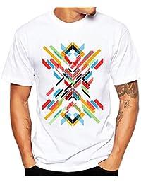 TWBB De los Hombres Camiseta de Manga Corta con Estampado de Camisetas