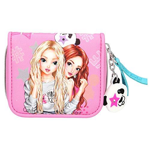 Depesche 10600 Portemonnaie, TOPModel Panda, pink, ca. 3 x 10 x 10 cm, bunt