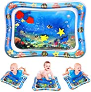 Bestmaple Premium Inflatable Tummy Time Water Mat for Infants & Toddlers, Baby Play Mat Toys, The Fun Time