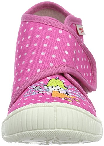 Superfit Bully, chaussons d'intérieur fille Pink (pink Kombi)