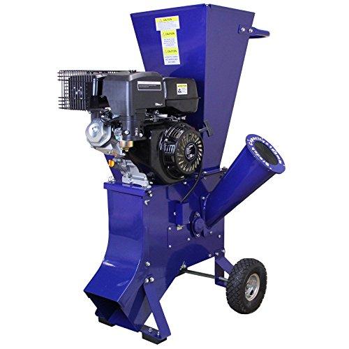 T-Mech - Trituradora de Ramas 15HP Gasolina para Destrucción de Ramas, Ramitas...