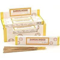 Tulasi Sandalwood Masala-Räucherstäbchen, Duft Sandelholz, 15Stück pro Pack, 12Pack preisvergleich bei billige-tabletten.eu