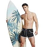 Surenow Herren Badeshorts Beachshorts Boardshorts Badehose Surfshorts Strand Männer Kurze Hose