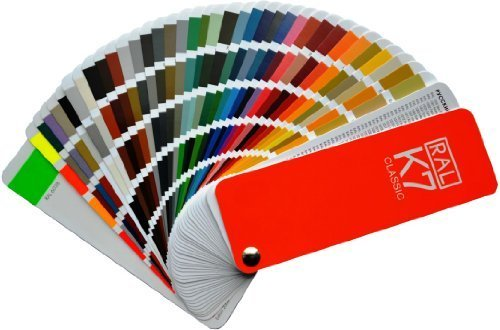 RAL K7-Farbe Fan Deck, Modell: ralk7, Tools & Hardware Store
