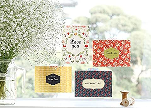 Iconic Design Message Card Cherry Blossom