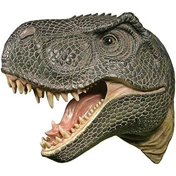 Tête de T-Rex trophée buste décoration murale Tyrannosaurus