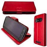 caseroxx Hülle/Tasche Bookstyle-Case Doro 8040/8042 Handy-Tasche, Wallet-Case Klapptasche in rot