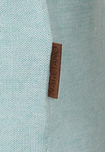 Naketano Male Knit Jedem Ass getrotzt Light Mint Melange