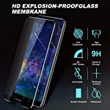 Youer Screen Protector Compatible with Huawei P20 Pro, [2 Pack] 9H Hardness,Premium Tempered Glass Screen Protector for Huawei P20 Pro,Bubble Free, HD Screen Protector Film -Black