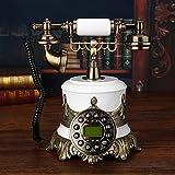Motesuvar Hochgradige Alte Telefon, Europäische Antike Telefon, Wireless - Karte, Retro - Telefon,Wlan - Karte (Unterstützung Von Unicom - Karte)