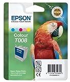Epson T008 Tintenpatrone Papagei, Multipack, 5-farbig