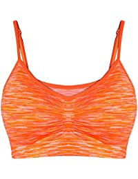 Libella sujetadores deportivos Brasieres para dama confortables sin tiras apto para dormir para deportes costura 3718
