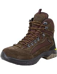 GUGGEN MOUNTAIN Zapatos de senderismo para mujer botas de trekking Montanismo Botas de montana impermeable con suela de Vibram HPM51