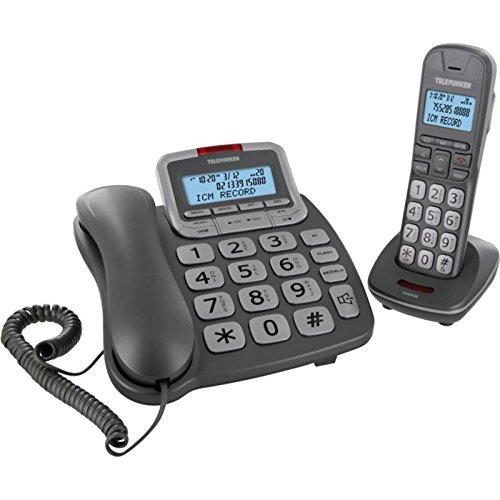 Telefunken tf652Duo Rep plata teléfono bibloc pantalla