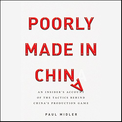 Poorly Made in China  Audiolibri