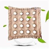 Air Inflatable Cushion Cuscino Gonfiabile Per La Casa Cuscino Gonfiabile Per La Casa Cuscino Per La Schiena Quadrato Anti-Emorroidi Cuscino Gonfiabile Per La Prevenzione Del Dolore