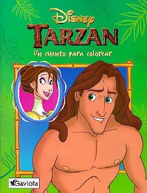 Tarzán: un cuento para colorear