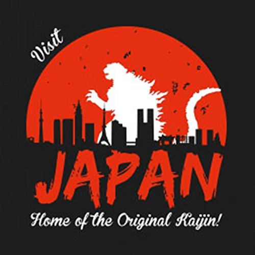 Visit Japan - Stofftasche / Beutel Braun