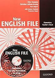 New English File : Elementary Teacher's Book (1Cédérom)