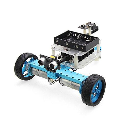 Preisvergleich Produktbild Makeblock Programmierbarer Roboter Kit DIY Arduino Roboterbausatz Roboter Car für Anfänger Blau (IR Version)
