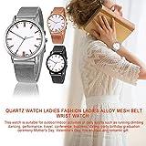 Supertop Frauen-Quarzuhr, Modische Legierung Mesh-Gürtel Armbanduhr Für Outdoor-Indoor-Aktivitäten, EIN Gutes Geschenk