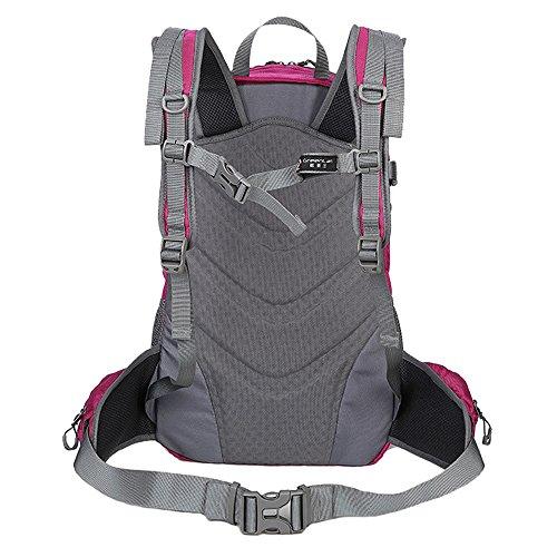 greenlan impermeabile sport all' aperto 35L Escursionismo Zaino Casual Daypacks per arrampicata borsa da viaggio zaino da trekking, Gl-816, Black, 35L Rose
