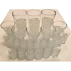 8000 Stück / 20Liter Wasser Kugeln Gel Bälle CHRISTAL ERDE CHRYSTAL Perlen Vasen Dekoration 11-15mm Durchmesser…