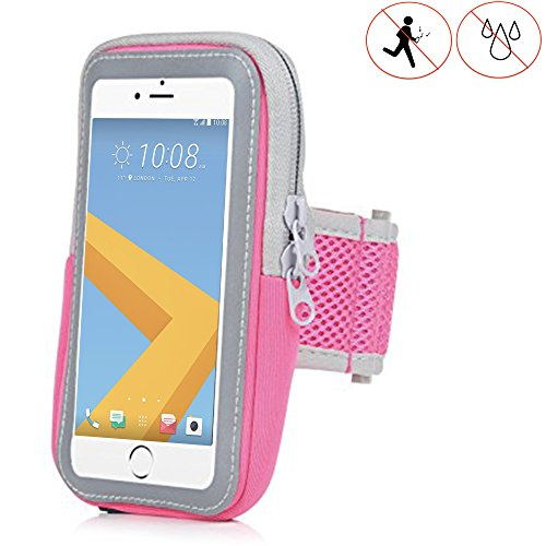 Handy Schutzhülle Tasche   für Switel Mambo S4018D   Sport armband zum Laufen, Joggen, Radfahren   SPO-1 Pink