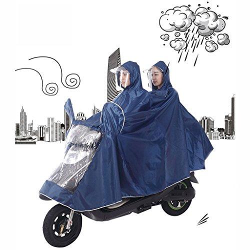 Imperméable électrique de moto double hommes et femmes imperméable de voiture adulte ( Couleur : P ) J