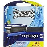 Wilkinson Sword Hydro 5 - Maquinilla de afeitar para hombre, 12 unidades