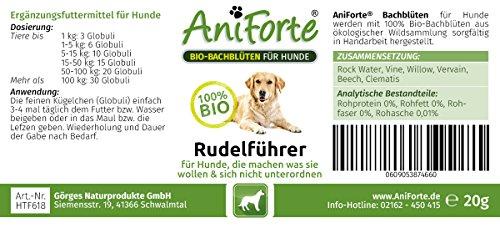 AniForte Bio-Bachblüten Rudelführer 20 g – Naturprodukt für Hunde - 2