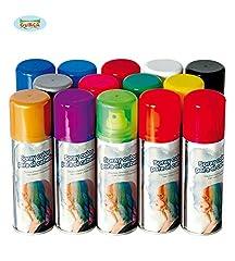 Idea Regalo - Varie GUIRCA - BOMBOLETTA Spray LACCA Colorata per COLORARE I Capelli (Bianco)