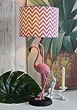 Tischleuchte Flamingo Lampe Flamingos Tischlampe Nachttischlampe 65cm Palazzo Exklusiv