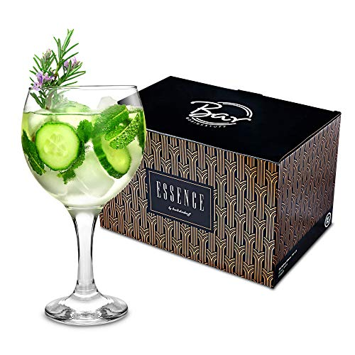 bar@drinkstuff Set da 6 ,City bicchieri da Gin e Cocktail 22,7 645 oz/ml in confezione Copa de Ballon & Gin Tonic-Bicchieri da Cocktail