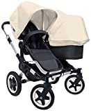 Bugaboo Donkey Complete Duo Stroller - Off White - Aluminum by Bugaboo