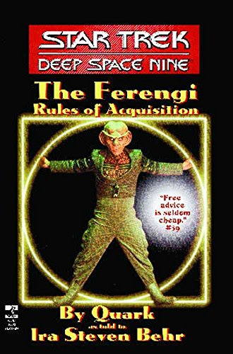 [Ferengi Rules of Acquisition] (By: Ira Steven Behr) [published: July, 1995]